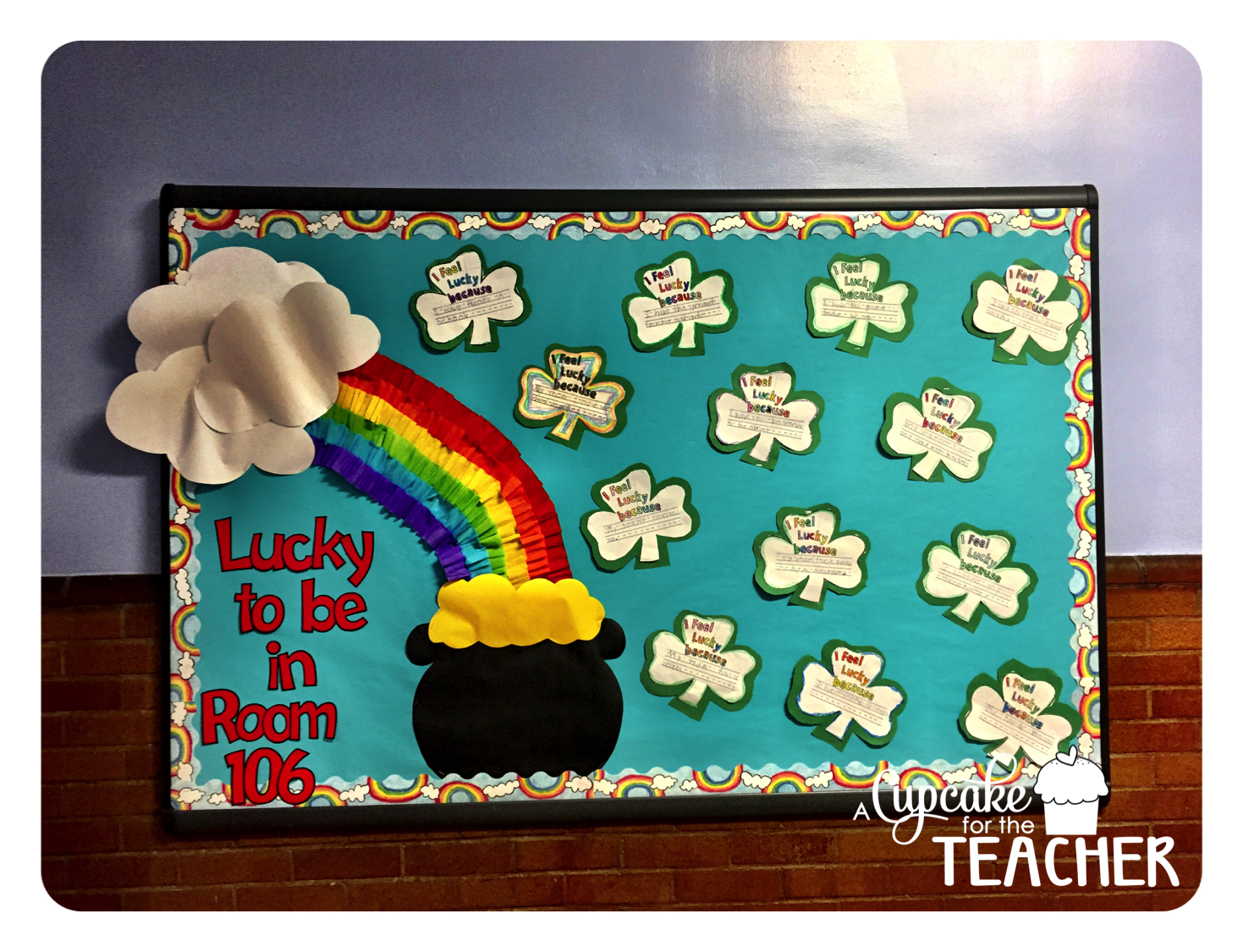 March Bulletin Board Tutorial And Sprint Prints